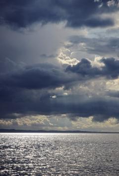 Cloudy Sea