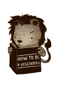lion book how to be vegetarian