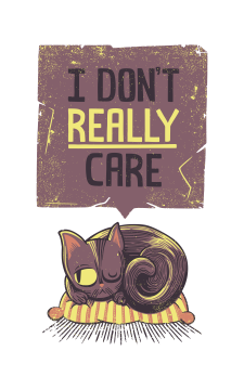 i dont care cat
