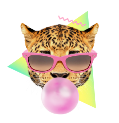 bubble gum leo