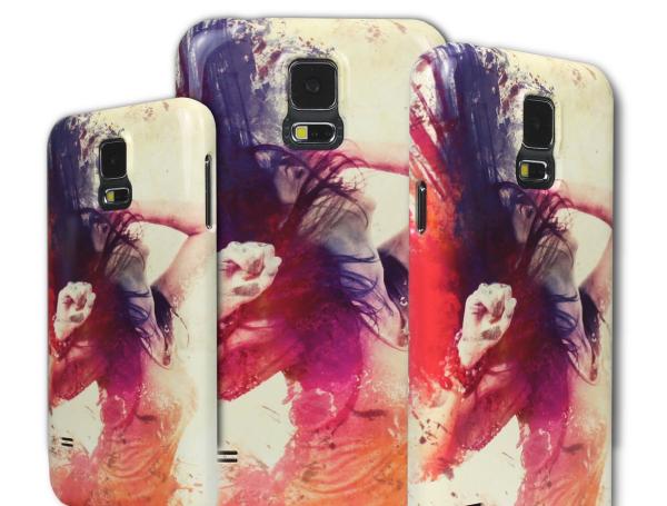 Samsung Galaxy S5 Frau bunt komplett