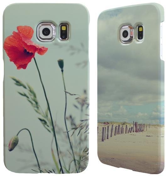 Galaxy S6 beach und Mohn